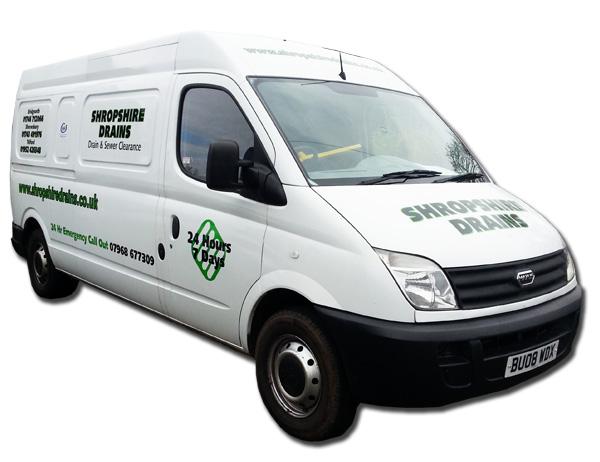 Shropshire Drains Van